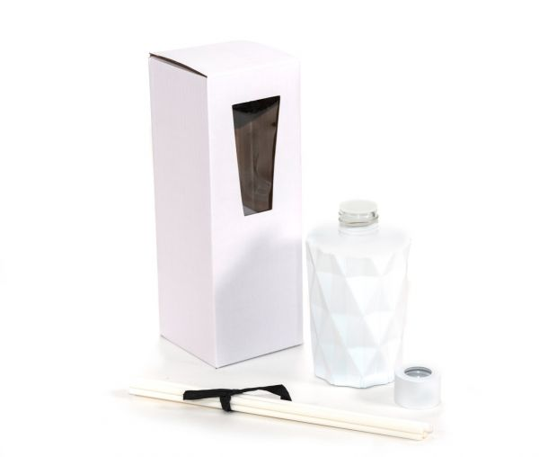 Diamond Diffuser Gift Set (170ML) : Matte White