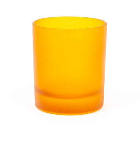 Large Classic Tumbler -  Frosted Gold Amber