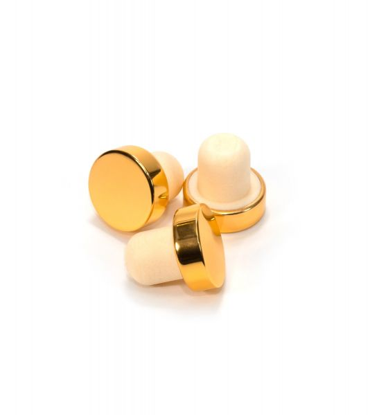Diffuser Bottle Stopper : Gold