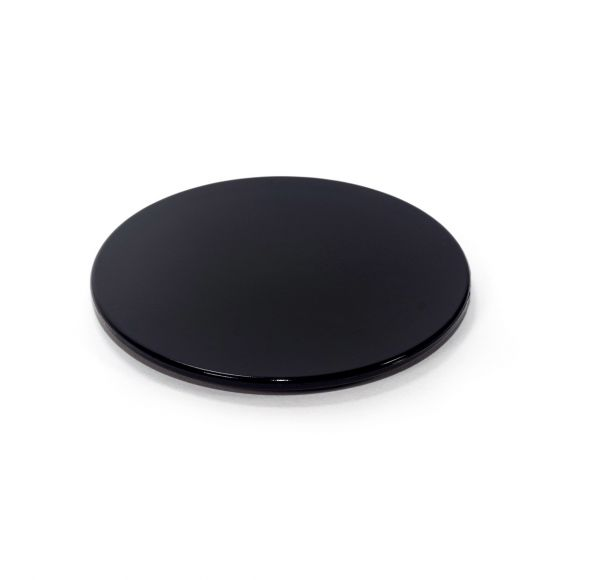 Large Lid : Black (Plastic)