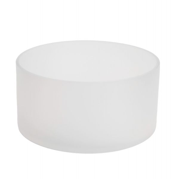 Large Candle Bowl – Frosted Ice