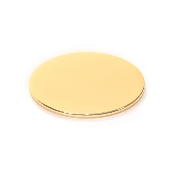 Large Lid : Gold Lid (Electroplated - Plastic)