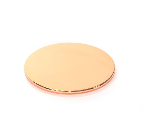 Large Lid : Rose Gold (Electroplated Plastic)