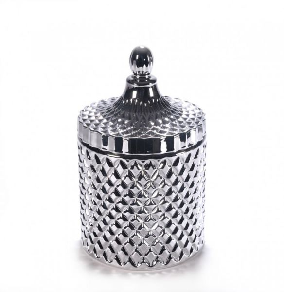 Large Geo Silver  - 500 GRAMS - Private Label