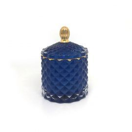 Baby Geo (100ml) : Royal Blue with Gold Trim