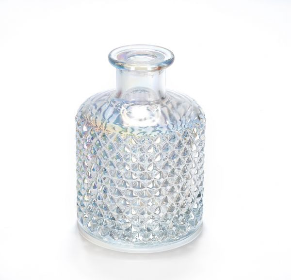 Bohemian GEO Diffuser Bottle (200ml) : Pearlescent Clear