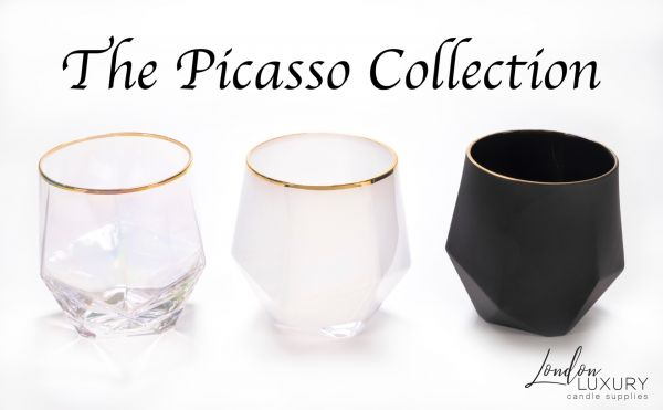 Picasso (380ml) : Iron Plated Clear / Pearl