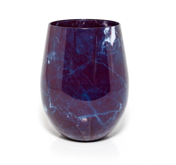 Renee Jar – Black Marble
