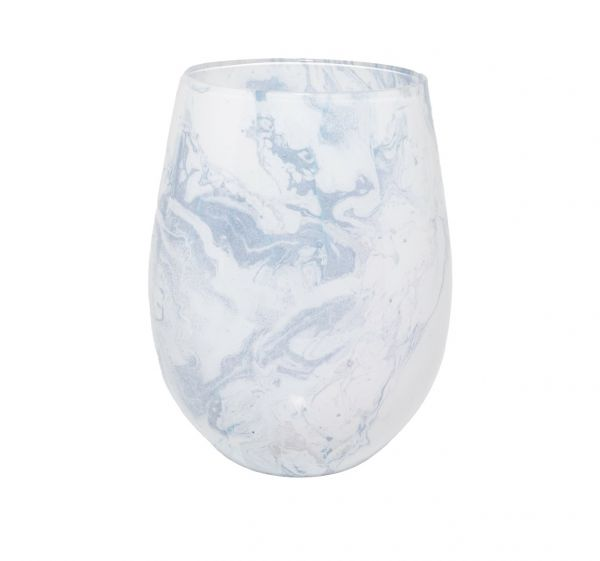 Renee Jar – White Marble