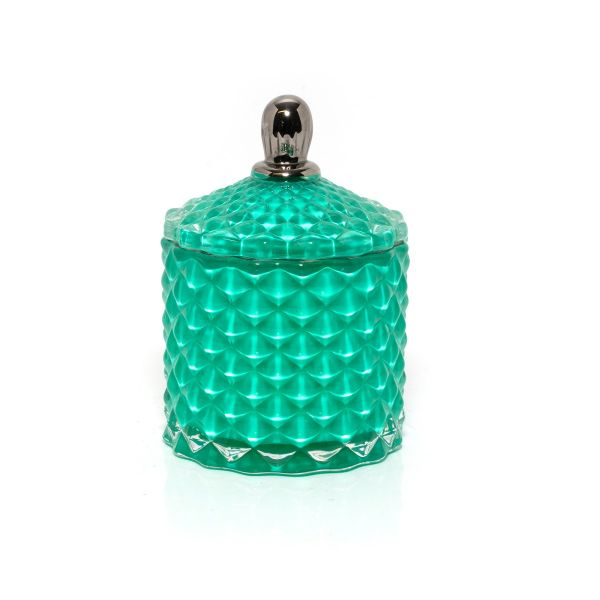 Baby Geo (100ml) : Royal Teal with Silver Trim
