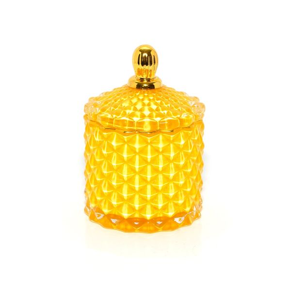 Baby Geo (100ml) : Royal Yellow with Gold Trim