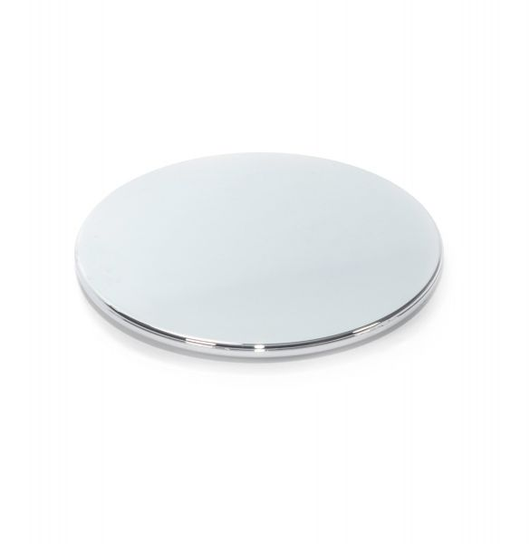 Small Lid : Silver (Electroplated Plastic)