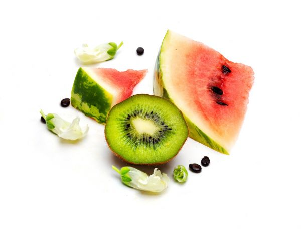 Watermelon Slice + Kiwi