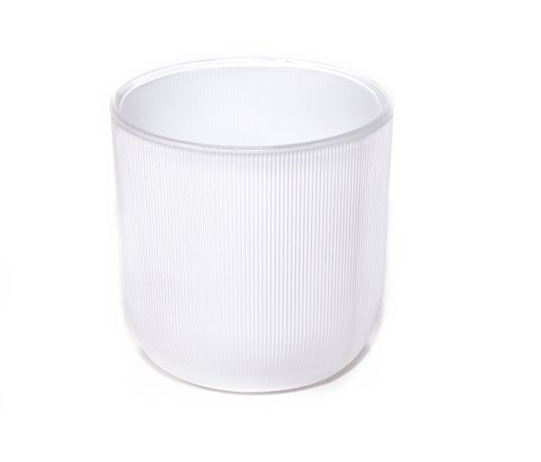Ribbed Collection – Gloss White